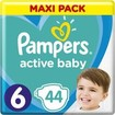 Pampers Active Baby Maxi Pack Νο6 (13-18 kg) 44 πάνες