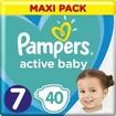 Pampers Active Baby Πάνες Maxi Pack No7 (15+ kg) 40 Πάνες