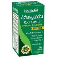 Health Aid Ashwagandha Root Extract για Ηρεμία, Ενέργεια & Υποστήριξη του Ανοσοποιητικού 60tabs