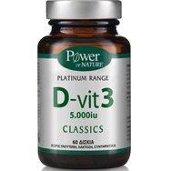 Power Health Platinum D-Vit 3 5000iu 60 tabs