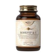 Sky Premium Life Rosehip 1000 mg & Vitamin C Συμπλήρωμα Διατροφής για την Ενίσχυση του Ανοσοποιητικού Συστήματος 60caps