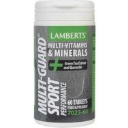 Lamberts Multi Guard Sport Συπλήρωμα Διατροφής για Άτομα που Ακολουθούν ένα Απαιτητικό Πρόγραμμα Εκγύμνασης 60tabs
