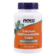 Now Foods Calcium Hydroxyapatite Caps 1000mg Συμπλήρωμα Διατροφής Ασβέστιο σε Μορφή MCH (Microcrystaline Collagen) 120 caps
