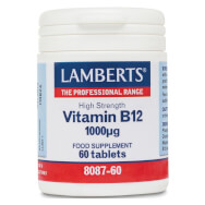 Lamberts Βιταμίνη B-12 Συμπλήρωμα Διατροφής 1000mcg 60tabs