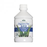 Optima Aloe Vera Juice Digestive Aid 100% Φυσικός Χυμός Αλόης 500ml