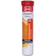 Lanes Vitamin C 1000mg Αναβράζουσα Βιταμίνη C για την Τόνωση του Ανοσοποιητικού 20 Effer.Tabs