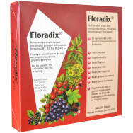 Power Health Floradix Ισχυρό Συμπλήρωμα Διατροφής που Μειώνει Το Αίσθημα Της Κόπωσης & Τονώνει τον Οργανισμό 10 x 20ml