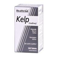 Health Aid Kelp (iodine) Ιώδιο 150μg Από Νορβηγικά Φύκια για Φυσική Λήψη Ιωδίου 240tabs