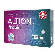 Altion Probio Συμπλήρωμα Διατροφής Προβιοτικών για Γαστρεντερικές Διαταραχές 12 φακελάκια