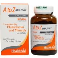 Health Aid A To Z Multivitamin Πολυβιταμίνη 90tabs