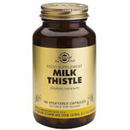 Solgar Milk Thistle Συμπλήρωμα Διατροφής Ισχυρό Αντιοξειδωτικό με Αντιφλεγμονώδεις & Αντιοξειδωτικές Ιδιότητες veg.caps