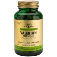 Solgar Standardised Valerian Root Extract Συμπλήρωμα Διατροφής Χρήσιμο σε Περιπτώσεις Αϋπνίας & Έντασης 60veg.caps