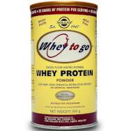 Solgar Whey-To-Go  Protein Powder Υψηλής Αξίας Πρωτεϊνη Απο Ορό Γάλακτος
