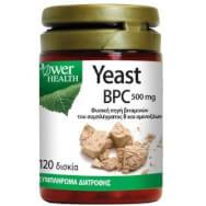 Power Health Yeast BPC 500mg Συμπλήρωμα Διατροφής Υγείας & Ομορφιάς 120tabs